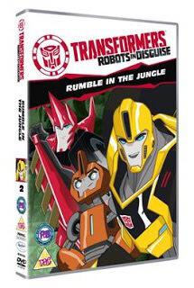 Transformers: Robots  in disguise – Rumble in the Jungle (+ competition)