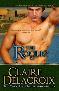 The Rogue- The Rogues of Ravensmuir-  by Claire Delacroix (Deborah Cooke)- Feature and review