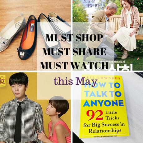 The Must Shop, Must Share, Must Watch this May