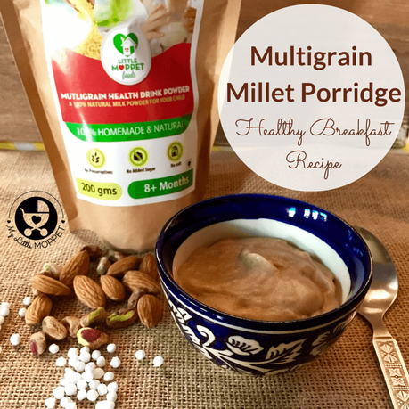 Multigrain Millet Porridge Recipe