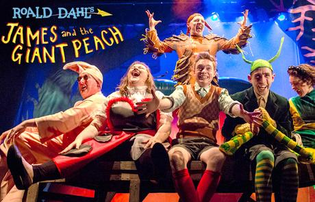 Win 4 tickets to JAMES AND THE GIANT PEACH!