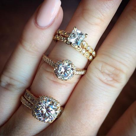 Do you need engagement ring insurance? These Tacori engagement rings say