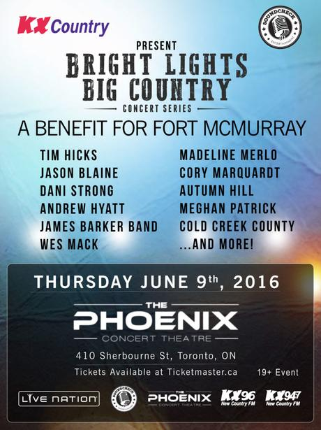 Fort McMurray Benefit Concert
