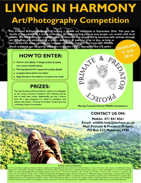 Living in Harmony Art / Photography Competition