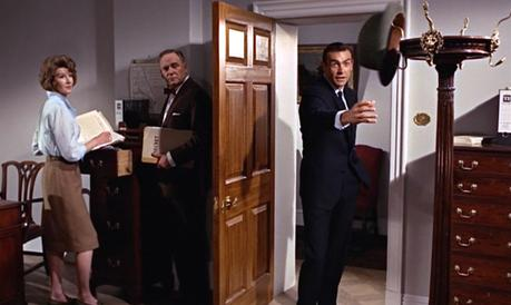 From Russia With Love – Bond's Dark Navy Office Suit