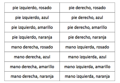 Creating an outdoor game with Spanish vocabulary