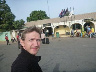 Day time on the Gambia side of the border