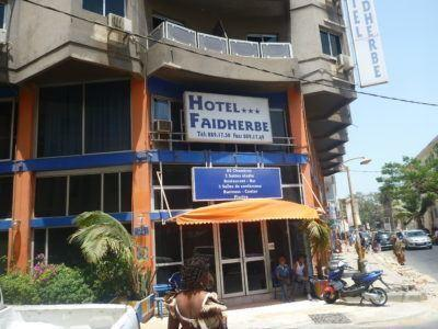 Hotel Faidherbe, Dakar, Senegal