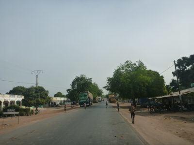 Senegal departure point