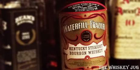 Waterfill And Frazier 12 Years Bourbon Label