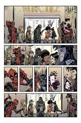 Deadpool V Gambit #1 First Look Preview 1