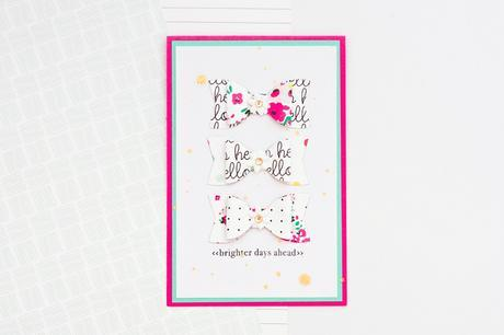 Paper Bow Card | @felicity_jane | Jessy Christopher