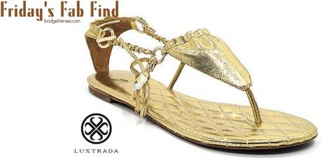 Friday's Fab Find: Luxtrada Sandals