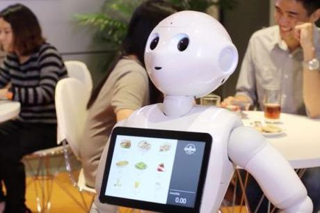 Pizza Hut's Pepper robot