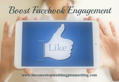How Wedding Planners Can Boost Facebook Engagement