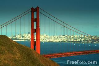 Image: The Golden Gate Bridge, San Francisco, California (c) FreeFoto.com