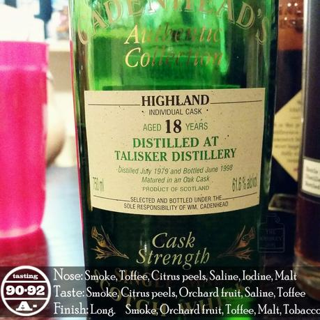 1979 Cadenhead's Talisker 18 Years Review