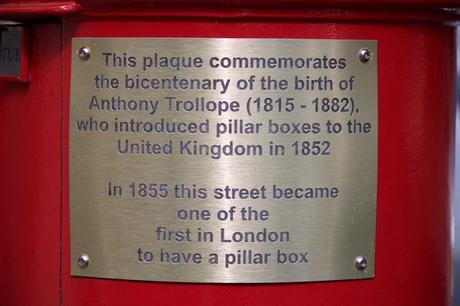 #plaque366 Anthony Trollope