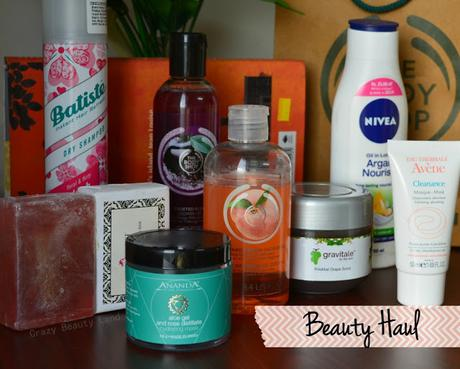 Beauty Haul + Mini Review ft. The Body Shop, Ananda Spa, Batiste etc.