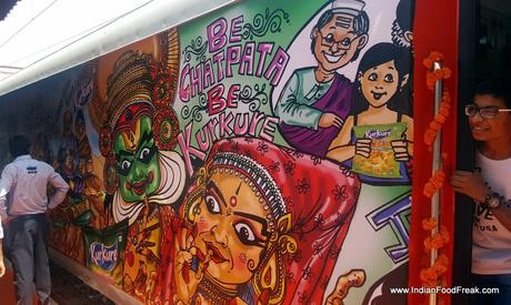Kurkure Family Express Train: India's First Food Train