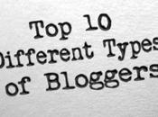 Different Types Bloggers