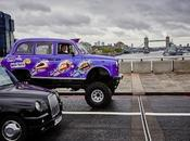 Cadbury Dairy Milk Taste Unveils Uk's First Ever Monster Truck Taxi