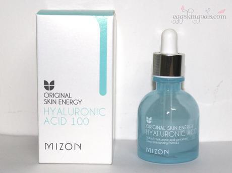 MIZON ORIGINAL SKIN ENERGY HYALURONIC ACID 100 REVIEW