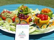 Fruit Vegetable Train with Halfway Homemade Salsa