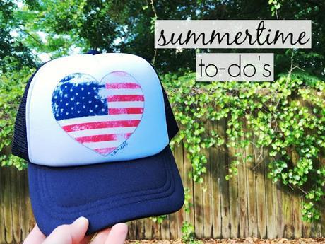 Summertime To-Do's
