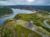 Aerial View Signal Hill, Newfoundland