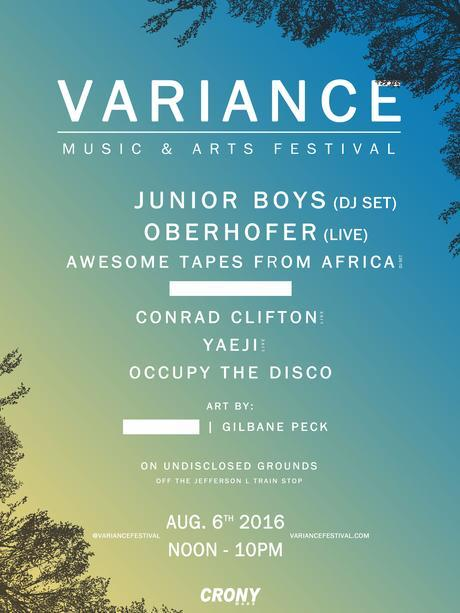 Variance Music and Arts Festival Announces Event in Bushwick