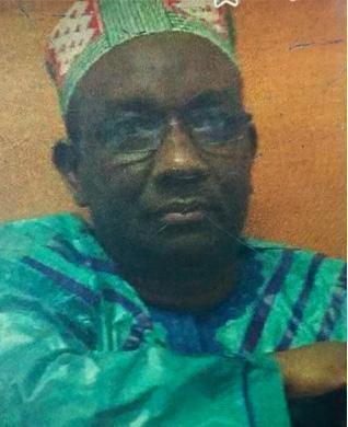 The husband Mamadou Diallo