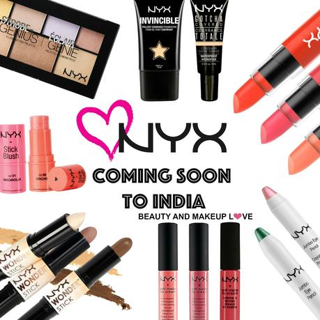 NYX Coming Soon to India!