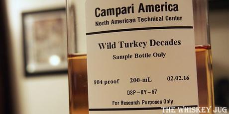 Wild Turkey Decades label