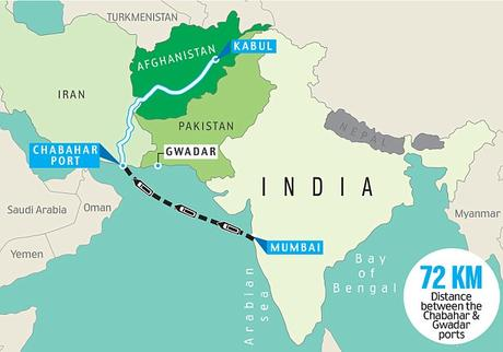 developing Chabahar Port in Iran ~ how it occurs good for India