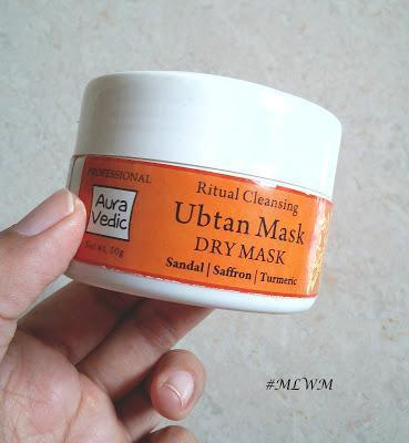 Auravedic Ritual Cleansing Ubtan Mask Review