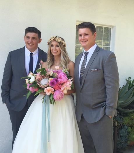 Ellis's Wedding  … Part One … What We Wore