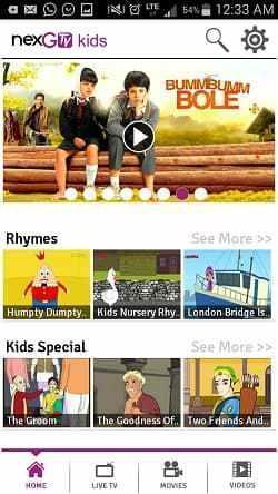 NexGTv Kids: Entertainment App for Children