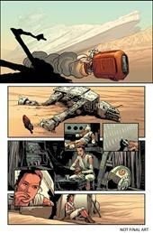 Star Wars: The Force Awakens Adaptation #1 Preview 2
