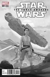 Star Wars: The Force Awakens Adaptation #1 Cover - Ribic Sketch Variant