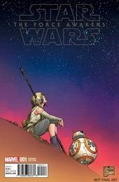 Star Wars: The Force Awakens Adaptation #1 Cover - Quesada Variant