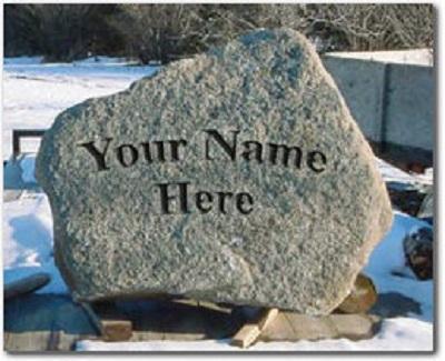 rock boulder sign1
