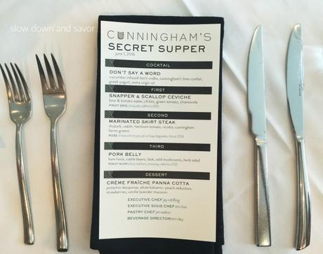 The Baltimore Sun's Secret Supper at Cunningham's