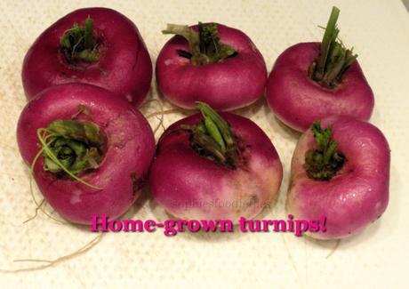 Turnip Leek marriage!