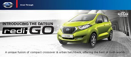 Ready, Steady, Go with Datsun #rediGO