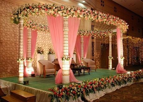 10 awesome indian wedding stage decoration ideas paperblog for Decoration ka photo