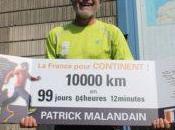 Patrick Malandain Completes 10,000 Days