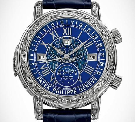 Patek Philippe Sky Moon Tourbillon world most expensive watch