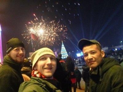 New Year's Eve at Ala Too Square, 2015