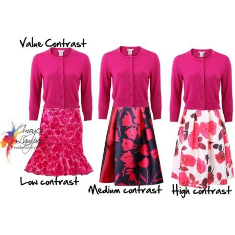 How to Wear Medium Value Colours When You are High Contrast